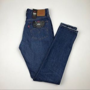 NWT Levi's 501 High Waist wedgie fit Jeans Sz 27